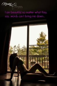 Photo taken by Revealed by Green Photography - words added myself